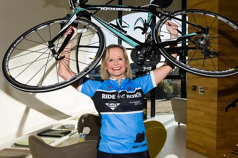 Alison Cycles for the NHS