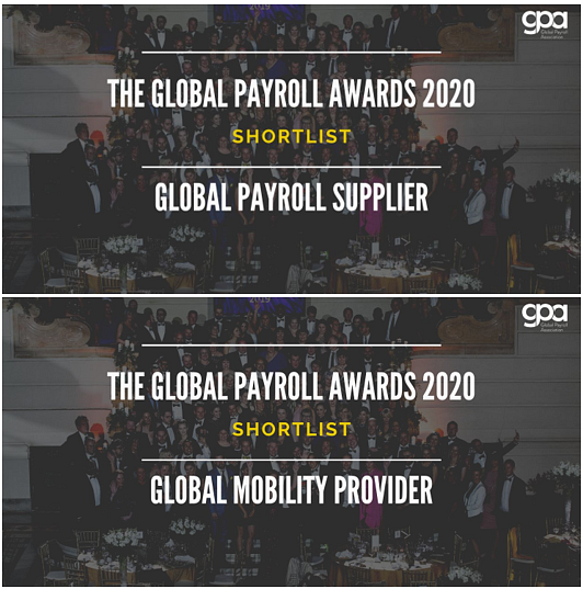 activpayroll Shortlisted for Two Global Payroll Awards