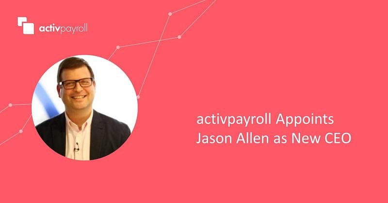 activpayroll Appoints New CEO