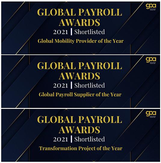 activpayroll Receives Three Nominations at the 2021 Global Payroll Awards