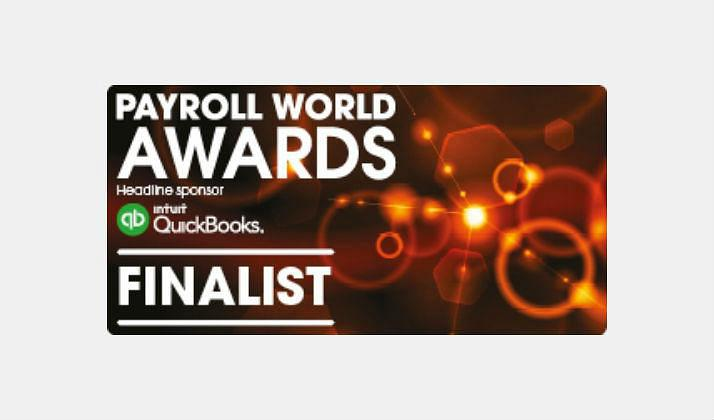 activpayroll announced finalist at Payroll World Awards