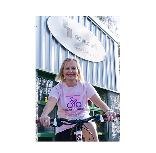 Alison Begins Training for Gruelling Charity Cycles