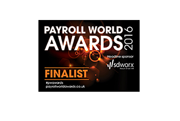 activpayroll shortlisted for Payroll World Awards 2016
