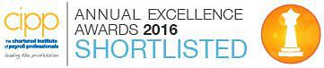 activpayroll Shortlisted for Prestigious CIPP Award