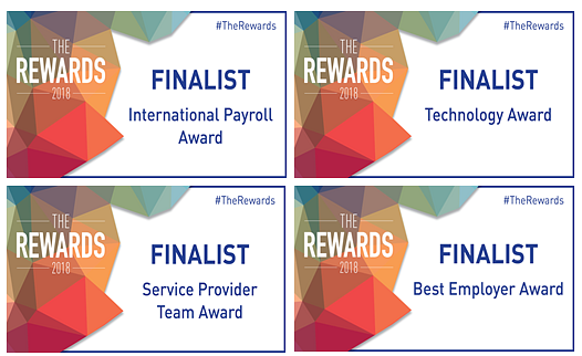 activpayroll Shortlisted for Four Industry Awards
