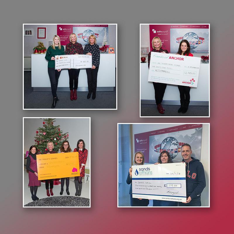 2018 Charity Success at activpayroll