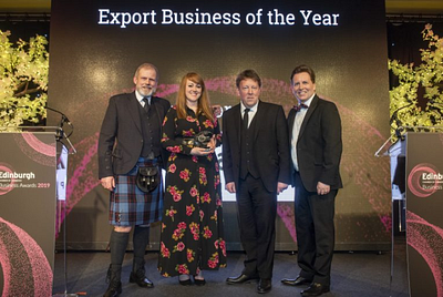 Did you know we won two awards at the Edinburgh Chamber Awards?