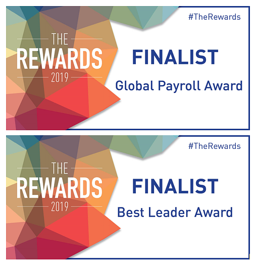 Double Award Nomination for activpayroll