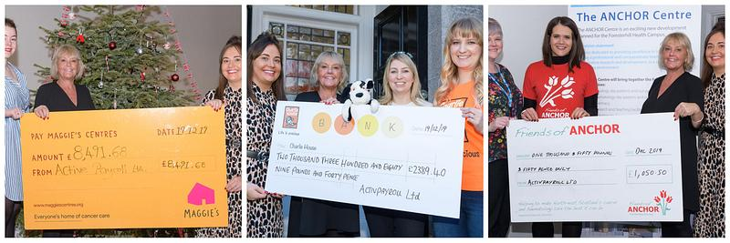 activpayroll Celebrates 2019 Charity Success